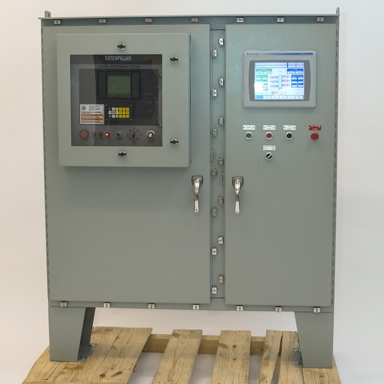 Natural Gas Compressor Control Panel